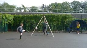 Moving the Goalposts: Three-Way Goalpost Drift Action, New Cross Stadium, 8AP